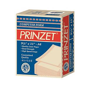 Prinzet Computer Form 2ply A4- Box of 1000
