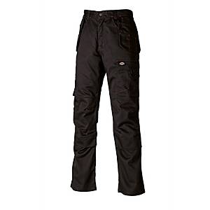 Dickies WD801 Work Trouser 34R Black