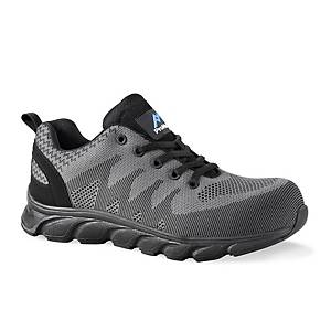 Rockfall PM4050 Atlanta Safety Shoe Grey S42 (UK SIZE 8)