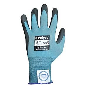 Polyco DFA Dyflex Glove Pair 10 Light Blue - Pack Of 10