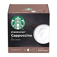 Starbucks Dolce Gusto Cappuccino Capsules - Box of 12