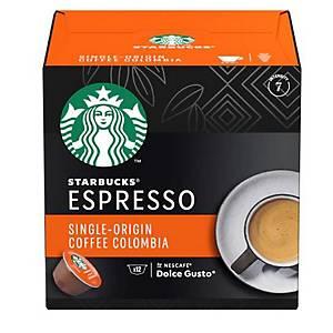 星巴克STARBUCKS 哥倫比亞單品咖啡膠囊 12粒裝