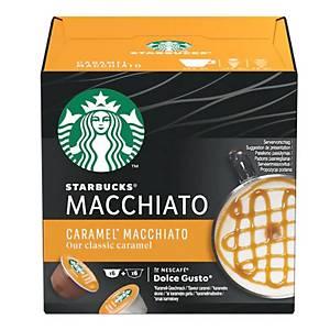 STARBUCKS Caramel Macchiato by NESCAFÉ Dolce Gusto - Box of 12