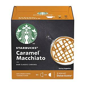 Starbucks Dolce Gusto Caramel Macchiato Capsules - Box of 12