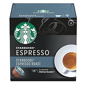星巴克STARBUCKS特濃深度烘焙咖啡膠囊 12粒裝