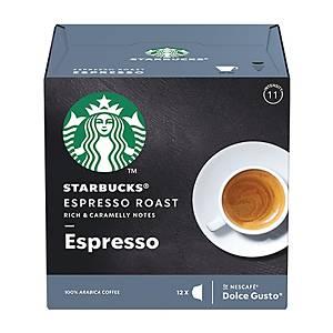 Starbucks Dolce Gusto Espresso Roast Espresso Capsules - Box of 12