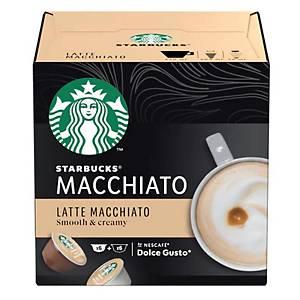 STARBUCKS Latte Macchiato by NESCAFÉ Dolce Gusto - Box of 12