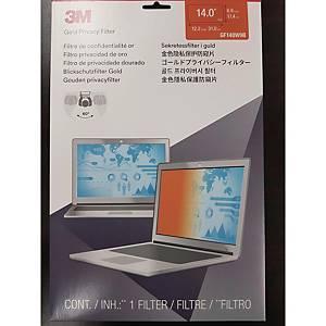 [직배송]3M GF140W9B 골드 노트북 정보보안기 와이드형