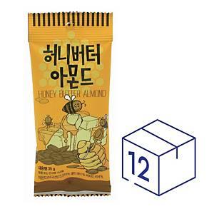 Tom s Farm 蜂蜜牛油杏仁35克 - 12包裝