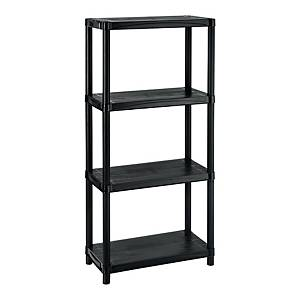 CURVER SIGMA 12 SHELVES 31X61X131 BLACK