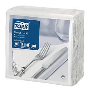 Tovaglioli Lunch Tork 39x39 cm bianchi - conf. 150