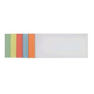 Moderationskarten Franken UMZ 1020, Maße: 20,5 x 9,5mm, Rechteck, sort., 500St