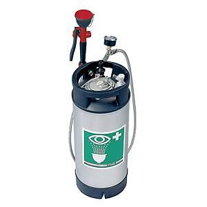 /Fusto portatile con doccetta di emergenza Tof 1100/250 verde