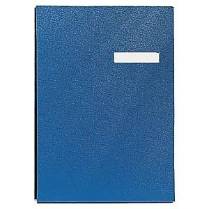 Libro firma Esselte 20 fogli 24,5 x 32 cm blu