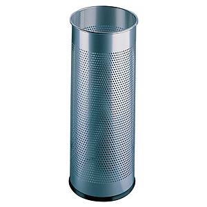 Durable Metal Umbrella Stand Silver - 28.5 Litre Capacity