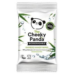 Cheeky Panda Handy Wipes Biodegredable - Pack Of 12