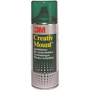 Sprühkleber 3M Creativ Mount 052020, 400 ml, beige, 1 Dose