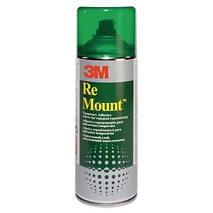 Colle repositionnable 3M ReMount - aérosol de 400 ml