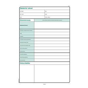 Stavební deník, 128 listů, NCR, propis, A4, 128 listů