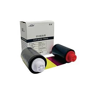 SEAORY ผ้าหมึกพิมพ์สี รุ่น S21 YMCKO 1 ม้วน