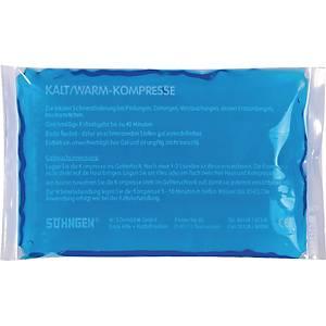 Thermo-Kompresse Söhngen 1012035, Maße: 8x13cm, warm/kalt, blau