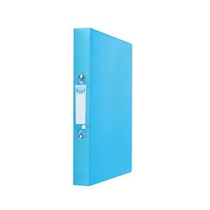 Elba Urban Ring Binder 2-Ring 25mm A4 Blue