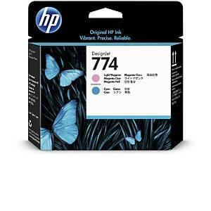 /Testina cartuccia inkjet HP P2V98A magenta chiaro - ciano