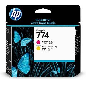 /Testina cartuccia inkjet HP P2V99A magenta - giallo