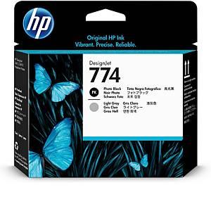 /Testina cartuccia inkjet HP P2W00A nero fotografico - grigio