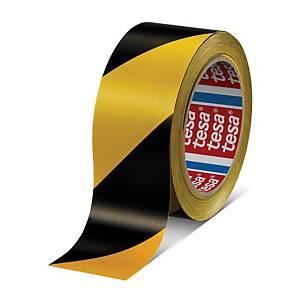Tesa 60760 Marking Tape Pvc 33mx50mm Black and Yellow