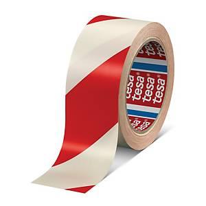 Tesa Marking Tape Pvc 33mx50mm Red&White