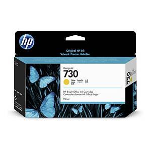 HP 730 Original Yellow Ink Cartridge