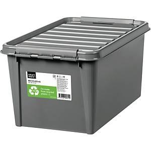 Opbevaringskasse SmartStore Recycled 45, 59 x 39 x 31 cm, 47 L, grå