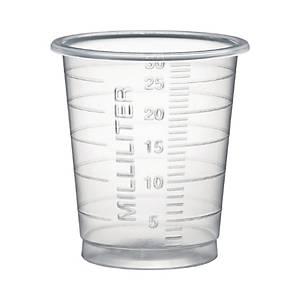 Med-Comfort lääkelasi 30ml kirkas, 1 kpl=80 lasia