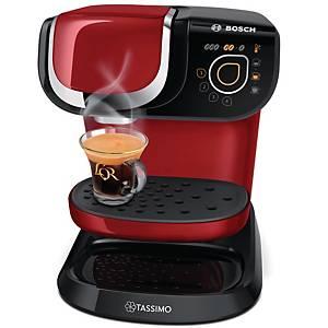Machine à café Bosh Tassimo Suny - TAS6003 - rouge/noir