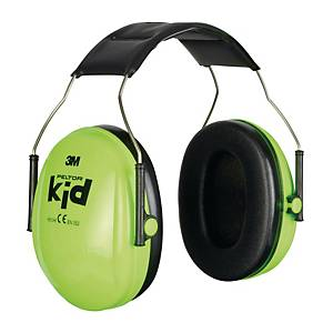 Kapselgehörschutz 3M H510AK, Kid, 27dB, neon grün
