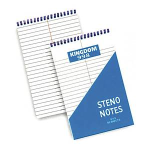 Kingdom #998 Steno Notebook 6 inch x 9 inch