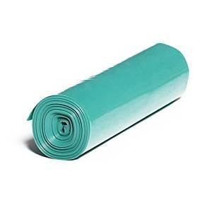 Pytle na odpad, 250l, 50 µm, zelené, 25 ks