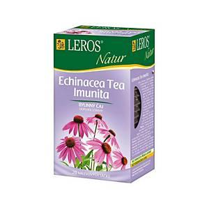 Čaj Leros Natur Echinacea Imunita, 10 porcií