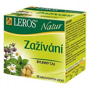 Čaj Leros Natur Trávení, 10 sáčků po 1,5g