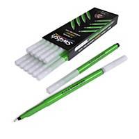 Swäsh KOMFIGRIP Handwriting Pens, Black, Pack of 12