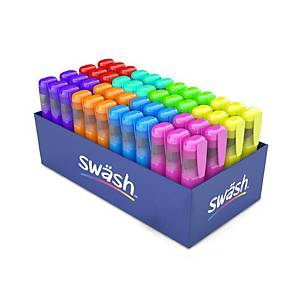 Swash Assorted Colours Premium Highlighters, Pack of 48