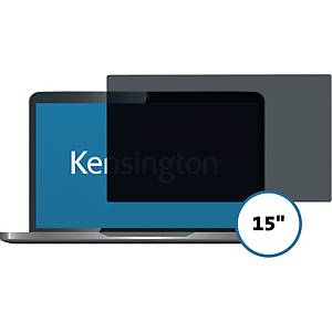 Skærmfilter Kensington Privacy 626440, til MacBook 15  Retina 2017, aftageligt