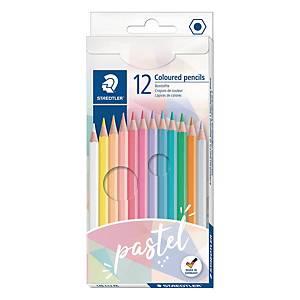 Staedtler Noris 146 Pastel Line puuvärikynä värilajitelma 1 kpl=12 kynää
