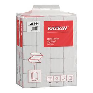 Ręczniki papierowe KATRIN 35564 BASIC Handy Pack, składka ZZ, 20 x 200 listków