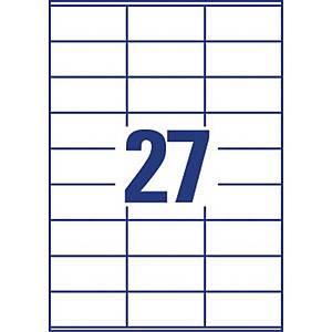 Lyreco monitoimitarra 70 x 32mm 27-osainen, 1 kpl=2700 tarraa