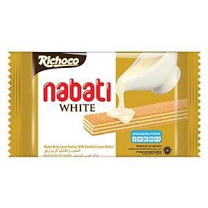 Nabati Rochoco White Wafer 50G - Pack 10