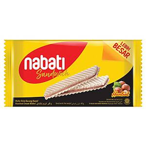Nabati Sandwich Hazelnut Waffer 40G - Pack of 10