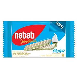 Nabati Sandwich Kelapa Lava Wafer 50G - Pack of 10