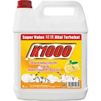 K1000 Dishwash Detergent 5l Lemon